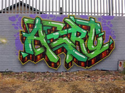 Graffiti Uk : Aeroarts London Graffiti Mural