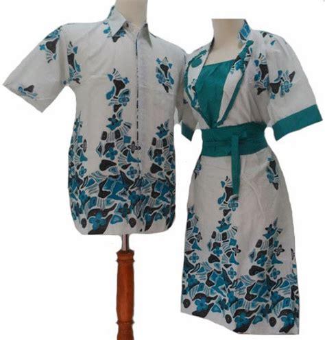model desain baju batik couple pria wanita terbaru info