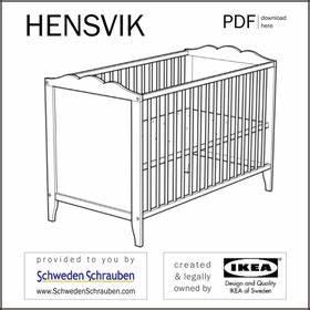 Ikea Babybett Hensvik : download der ikea anleitungen shop kaufe ersatzteile f r ikea m bel ~ A.2002-acura-tl-radio.info Haus und Dekorationen