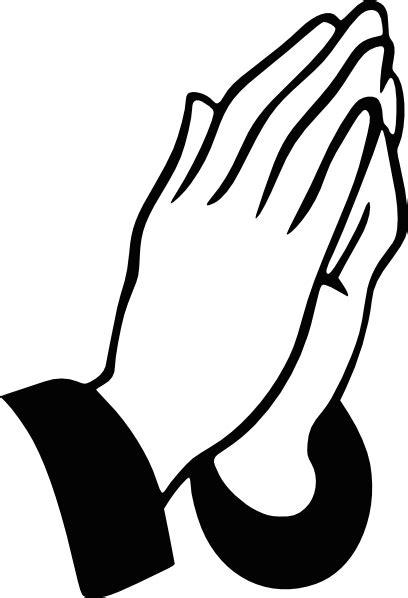Praying Hands Rt Clip Art at Clker.com - vector clip art