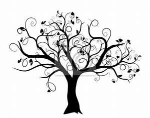 Stickers Arbre Noir : albero della vita stilizzato carta da parati ~ Teatrodelosmanantiales.com Idées de Décoration