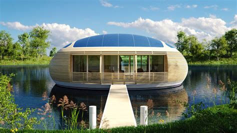 The Waternest An Ecofriendly Floating House