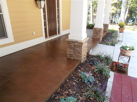 Stained concrete patio ideas, how do you stain concrete