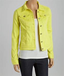 COLORED DENIM WOMENS JACKET Creative India Exports