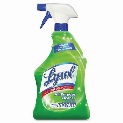 Bleach Lysol Cleaner Purpose Disinfectant Spray Cleaners