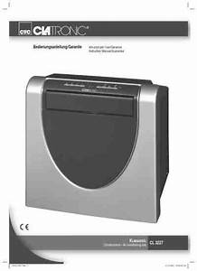 Clatronic Cl 3227 Air Conditioner Download Manual For Free