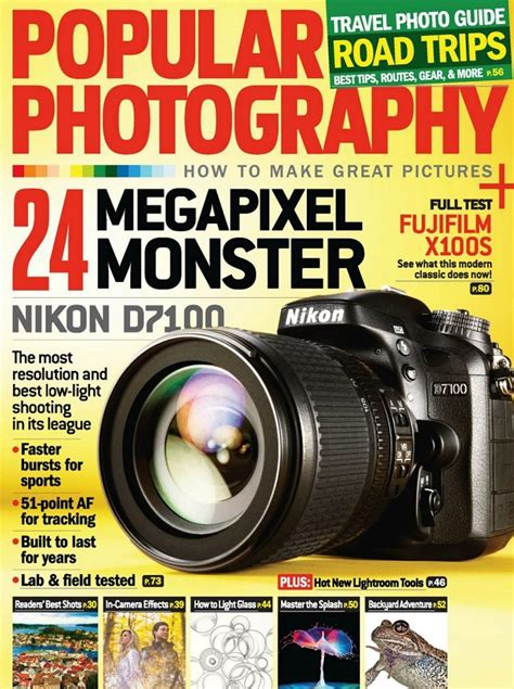 Popular Photography Magazine Just $499year Today Only
