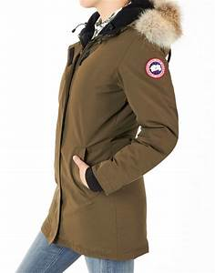 Dames Canada Goose Jas Ladies Victoria Parka Military Green