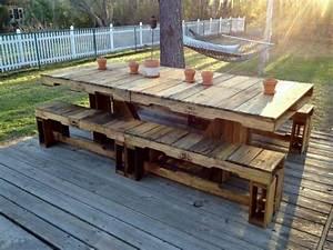 Table en Palette : 44+ Idées à Découvrir (PHOTOS)