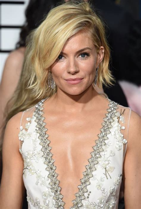 Extreme cleavage: Jennifer Aniston, Sienna Miller, Reese