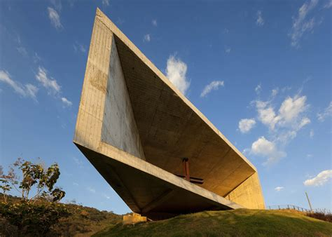 The Asymmetrical Cardedeu Chapel By Emc Arquitectura