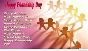 Best friend say... Friendship Day Good Quotes