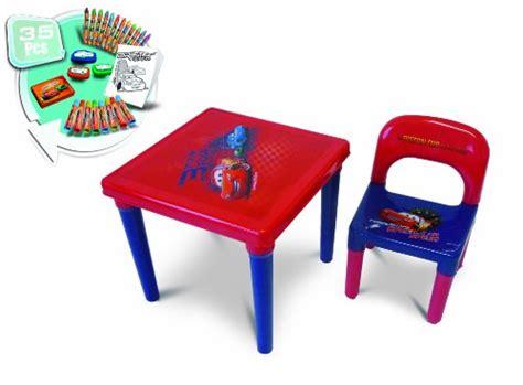 table cars avec chaise d 39 arpèje cars cdic016 loisir créatif table