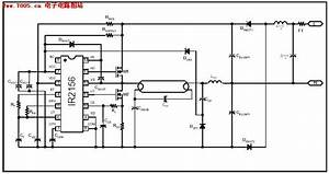 ir2156 fluorescent lamp integrated circuit electron With smart ballast control ic for fluorescent lamp ballasts schematic