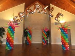 ideas for baby shower how to make a rainbow personalized balloon name arch with