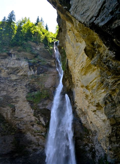 reichenbach falls  scenic tourist attraction  europe