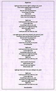 Right Now - One Direction | Lyrics | Pinterest | One ...