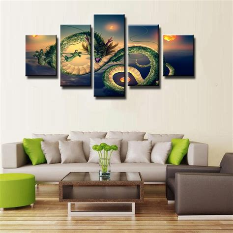 z wall decorations the shop shenron canvas
