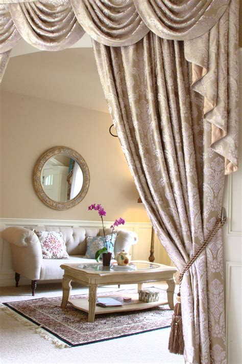 Custom Made Curtains And Drapes by Custom Made Swag Valance Curtains The Fabric Is Quot Gold