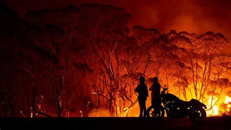 australia climate change wildfires wildfire