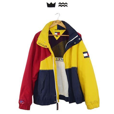 90s Vintage Tommy Hilfiger Sailing Gear Jacket Mens