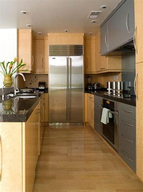 corridor kitchen designs