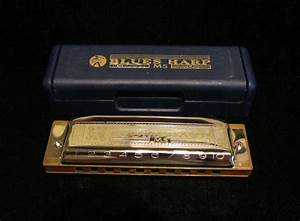 Vintage Hohner Harmonica Blues Harp MS 532/20 by ...