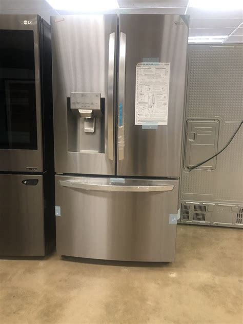 lg  cu ft french door smart refrigerator  wi fi enabled  stainless steel
