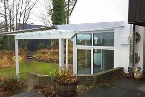 Terrassen berdachung in wei so muss das for Terrassenüberdachung weiß