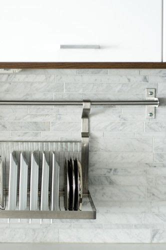 drying rack  sink great idea love  marble splash  tiles  images scullery