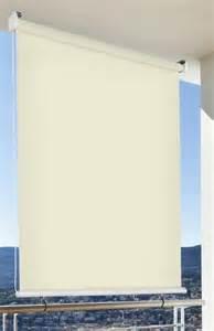 balkon schutz sonnen schutz außen rollo balkon rollo b 180 x l 230 cm beige creme balkon sicht schutz 1 stück