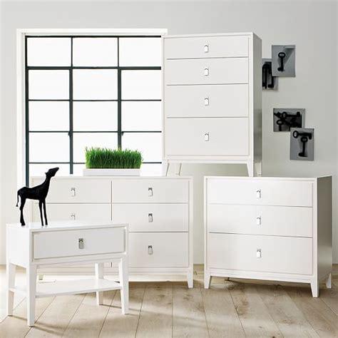 West Elm Niche Nightstand by Niche 4 Drawer Dresser White West Elm