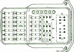 1988 Mercedes Benz E190 Fuse Box Diagram