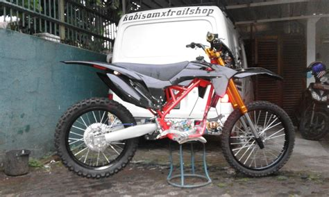 Jual Motor Modifikasi Trail by 80 Modifikasi Motor Trail Murah Modifikasi Trail