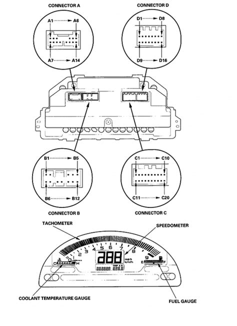 cluster swap wiring guide page  honda tech honda forum discussion