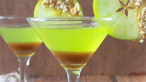apple martini recipe caramel apple martini recipe from betty crocker