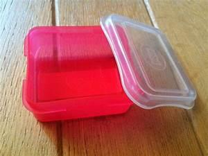 Boite Plastique Petite Taille : bo te plastique translucide rouge taille m kymoa ~ Edinachiropracticcenter.com Idées de Décoration