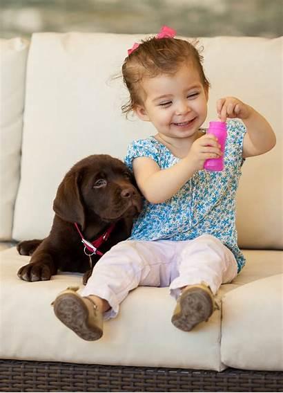 Babies Dogs Collide Worlds Joy Aren Experiencing