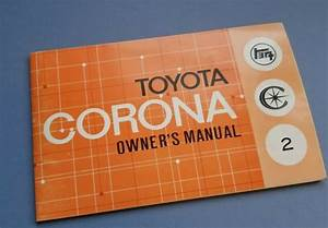 1960 U0026 39 S Toyota Corona Original Owners Manual Service Guide