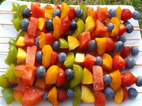 cuisine blettes brochettes de fruits nature
