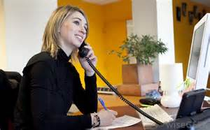 what are the different front desk receptionist
