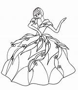Coloring Dance Pages Woman sketch template