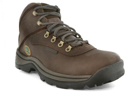 mens timberland white ledge waterproof mid hiker brown