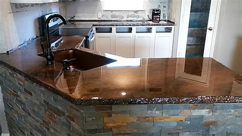 painting a kitchen countertop concrete countertops pros and cons networx