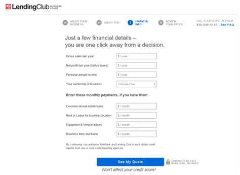 lending club phone number step by step lending club business loan application in