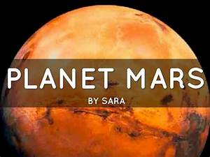 Planet Mars by Sara Arifoski