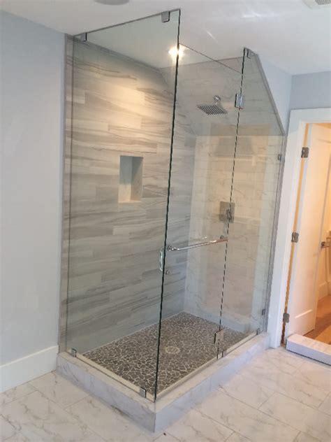 glass enclosure  angled ceiling patriot glass