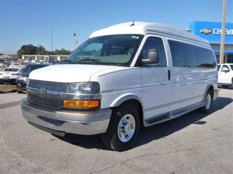 Sell Used 2013 Chevy Express 15 Passenger High Top Rocky