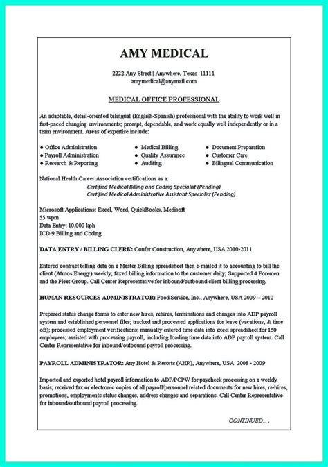 Clerical Resume by Clerical Resume Sle Provides Your Chronological Order