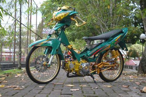 Modifikasi Yamaha Jupiter Z by Modifikasi Yamaha Jupiter Z Bulus Doyan Ngebut Otoinfo Id